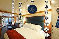 DCL Glow in the Dark Star Wars? Stateroom Decorations