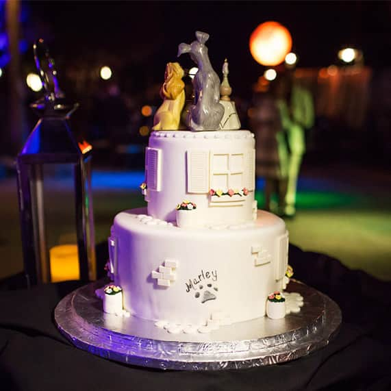 Wedding Cake Wednesday Baking For Your Guest Count Disney Weddings