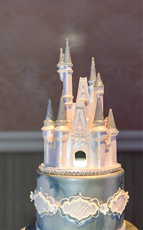 Wedding Cake Wednesday Blue Disney Cinderella Castle Weddings