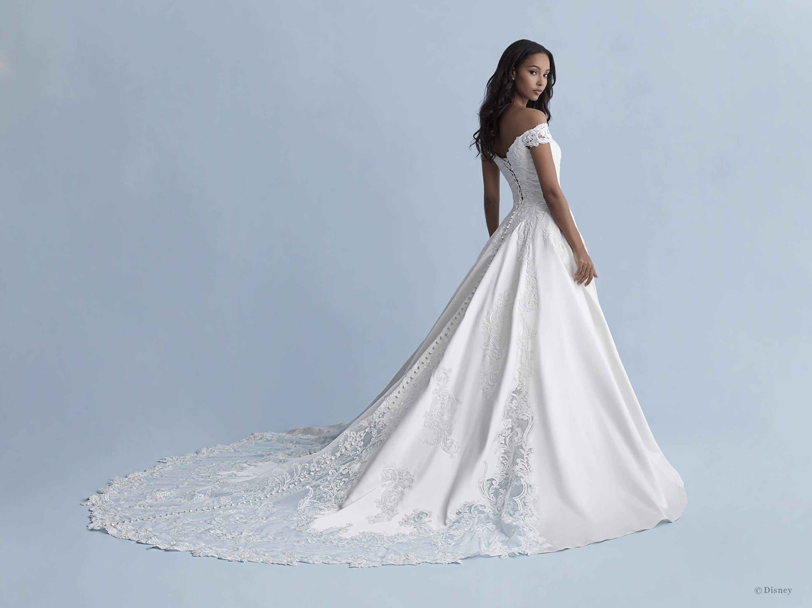 Wedding Dresses Fit For A Princess Allure Bridals New Disney Fairy Tale Weddings Collections Available Now Disney Weddings