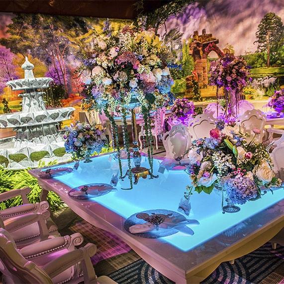 Disney Decor A Secret Garden Inspired Soiree Disney Weddings