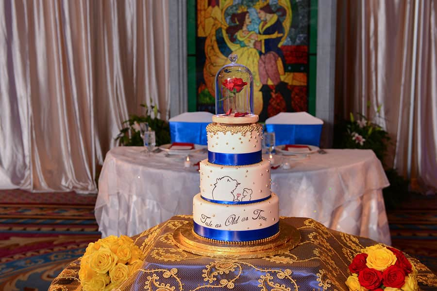 Wedding Cake Wednesday Tale As Old As Time Disney Weddings