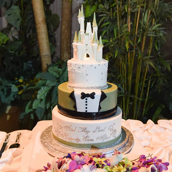 Wedding Cake Wednesday Cinderella Castle Tuxedo Cake