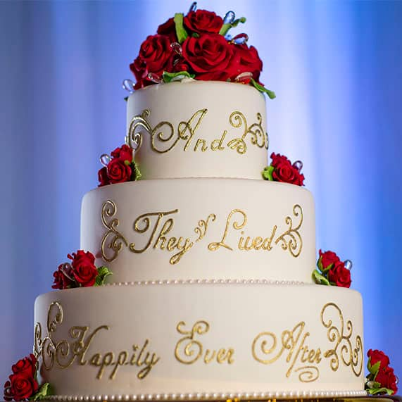 Wedding Cake Wednesday And They Lived Hily Ever After Disney Weddings