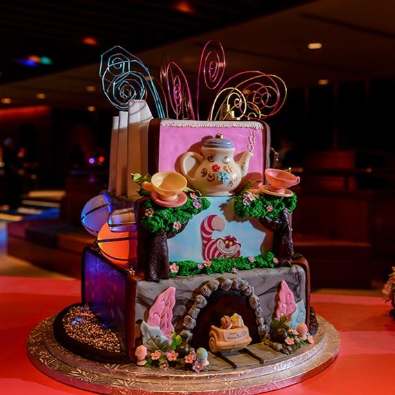 Wedding Cake Wednesday: Beloved Disney Attractions