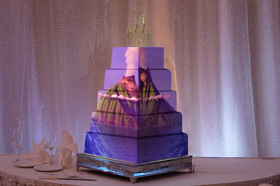 Check Out The Video Of Cake Below This Sequence Ropriately Debuted At Aulani A Disney Resort Spa And We Are Officially Obsessed