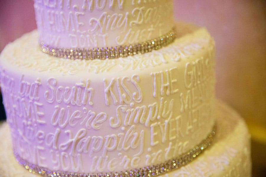Wedding Cake Wednesday: Disney Movie Quotes | Disney Weddings