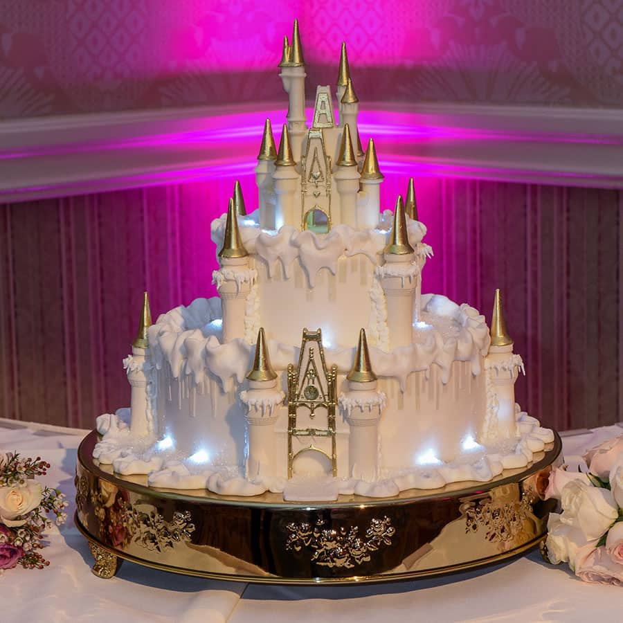 Wedding Cake Wednesday: Wintertime at Cinderella Castle | Disney