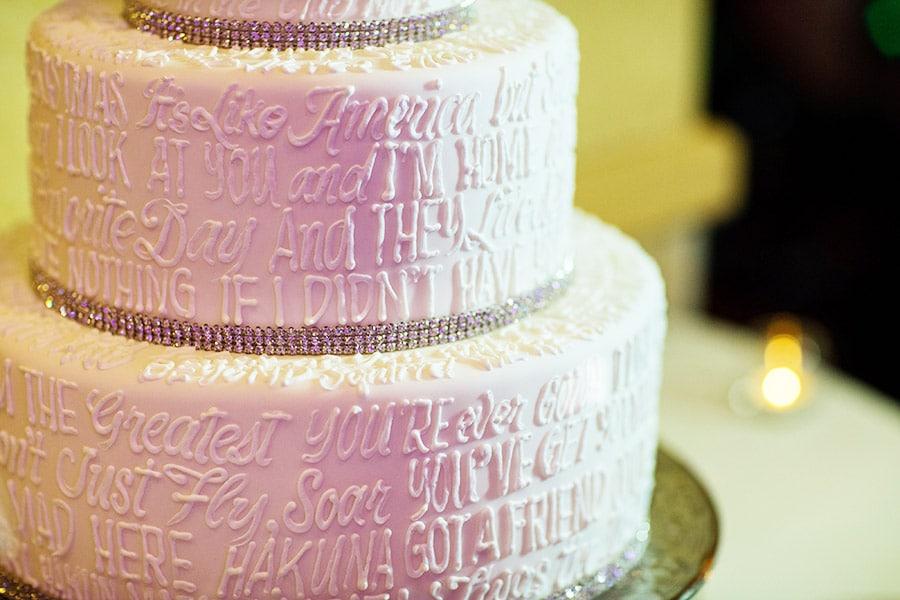 Wedding Cake Wednesday Disney Movie Quotes Disney Weddings Stunning Disney Wedding Quotes