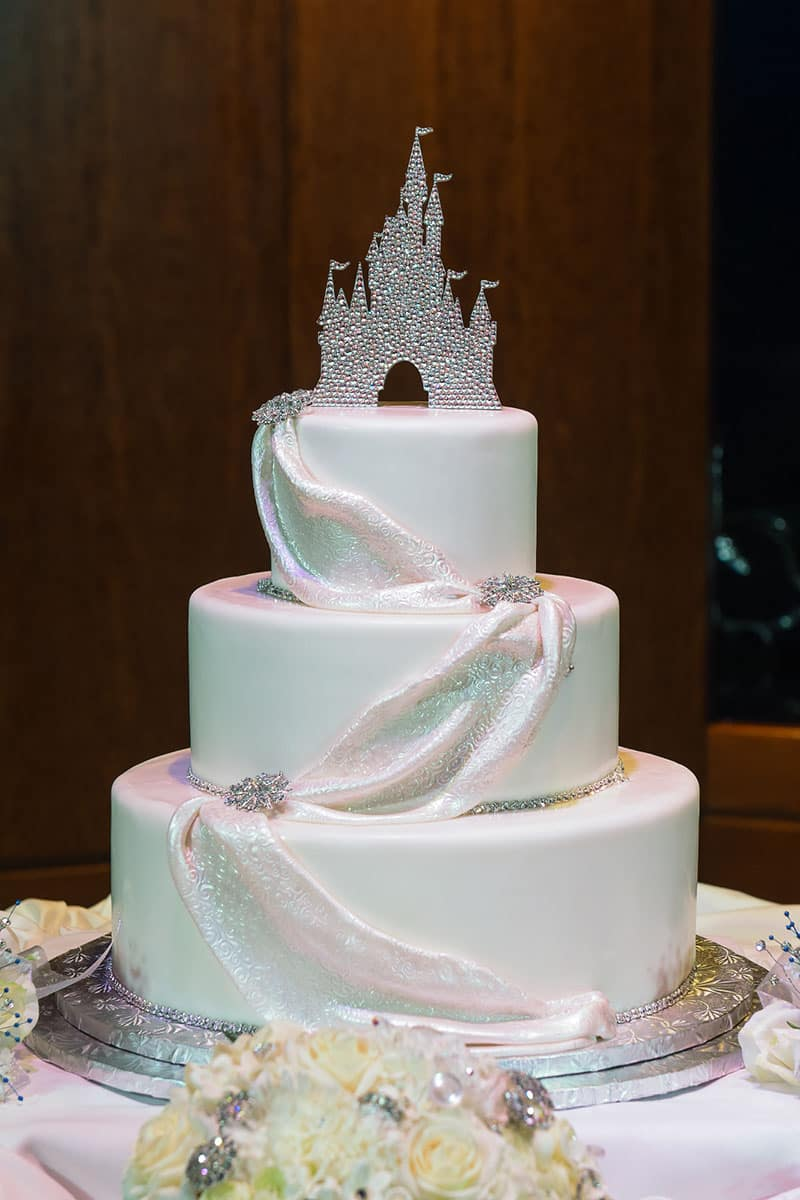 Wedding Cake Wednesday Dazzling Elegance Disney Weddings