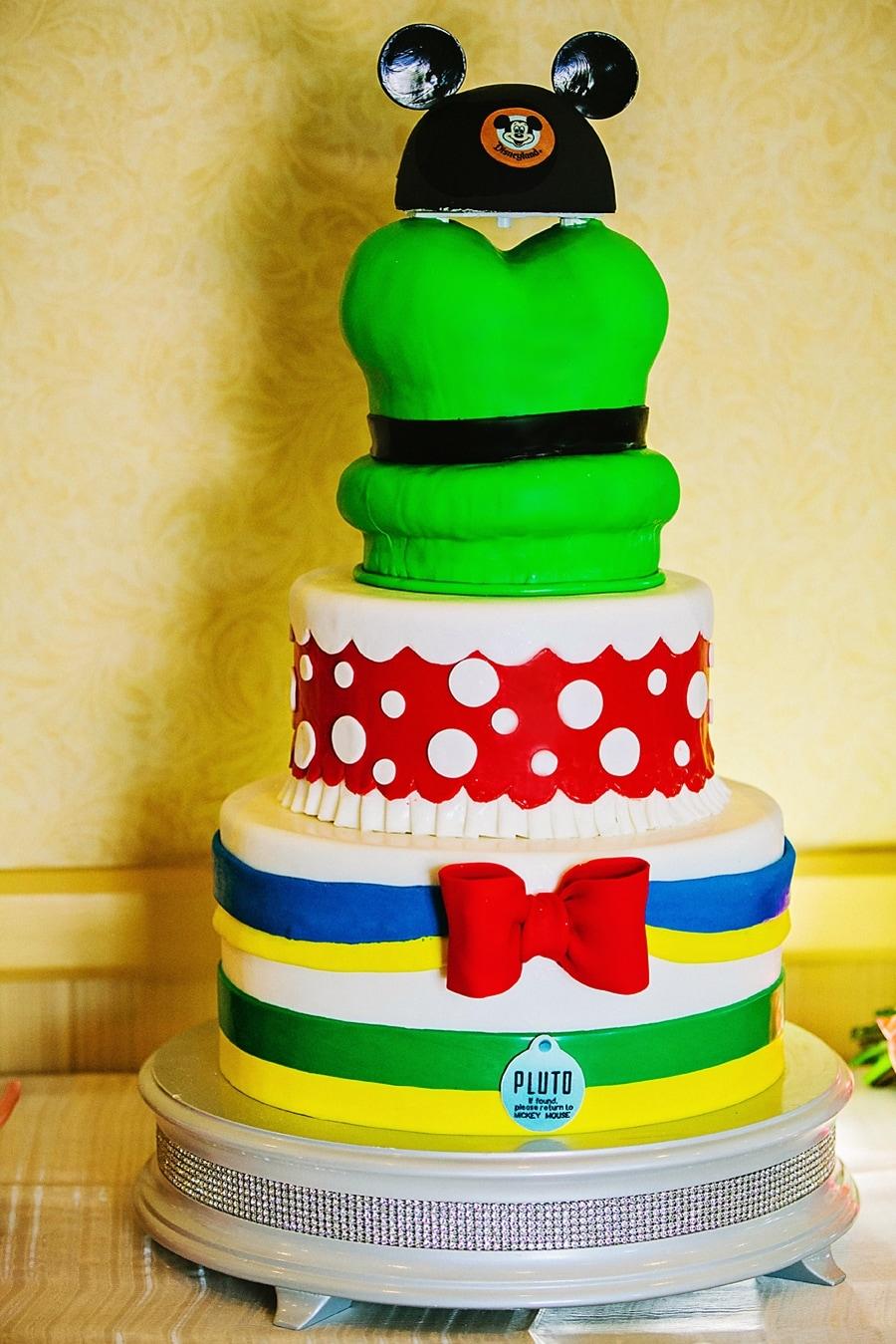 Wedding Cake Wednesday Disneyland Characters