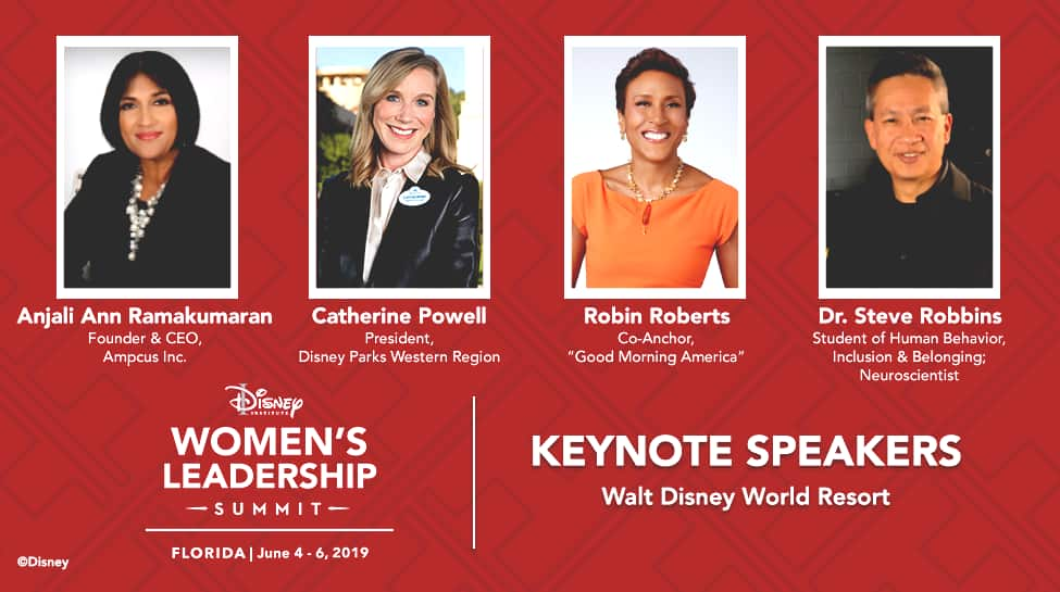 Announcing Keynote Speakers, New Details for the 2019 Disney