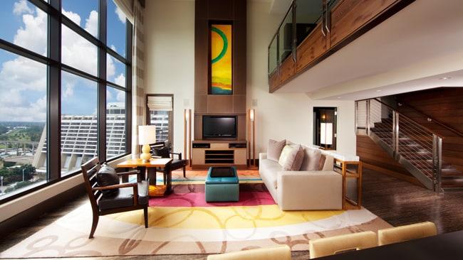 Rooms Points Bay Lake Tower At Disney S Contemporary Resort Disney Vacation Club