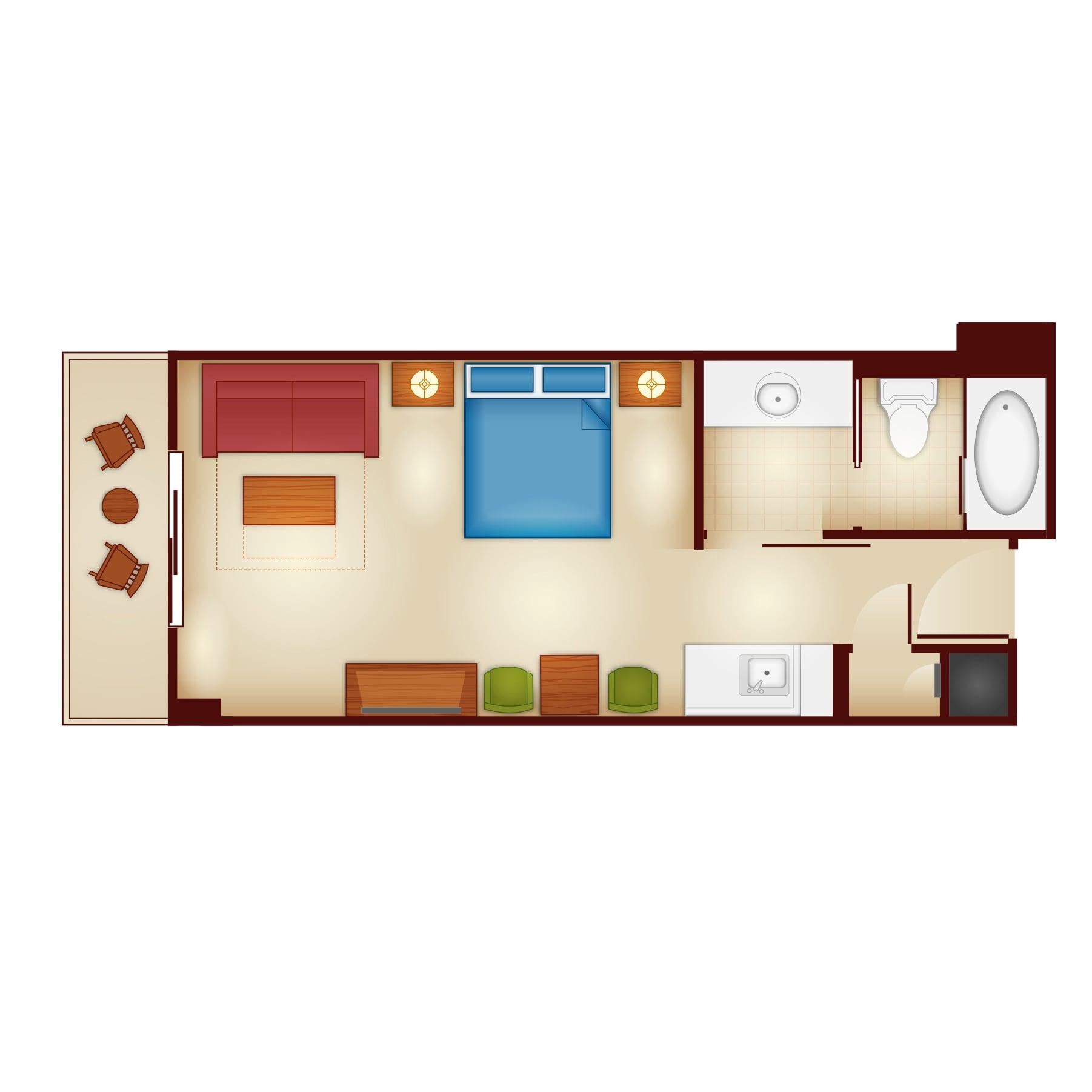Rooms Points Copper Creek Villas Cabins Disney Vacation Club